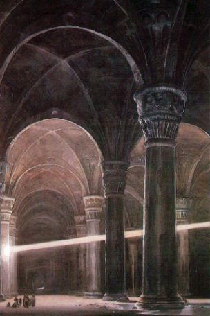 Moria - Alan Lee