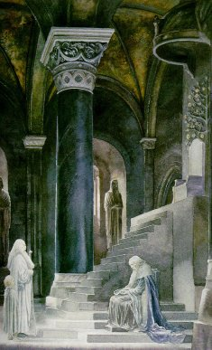 Tower Hall by Alan Lee